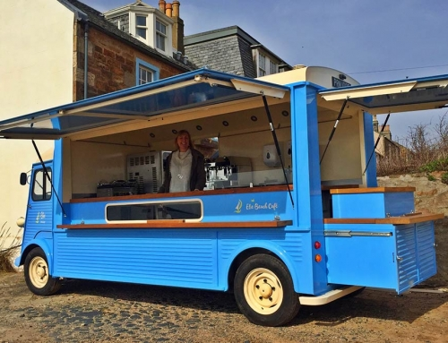 Classic French Vans – Elie Beach Cafe