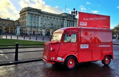 Promo Vehicles - Just Eat Van