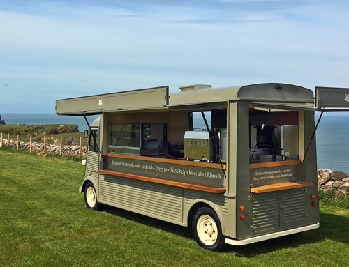 Rhossili Bay HY Van Conversion Catering Truck for National Trust