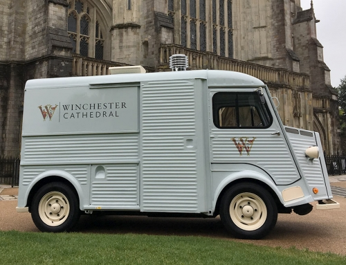 Classic French Vans – Winchester Cathedral