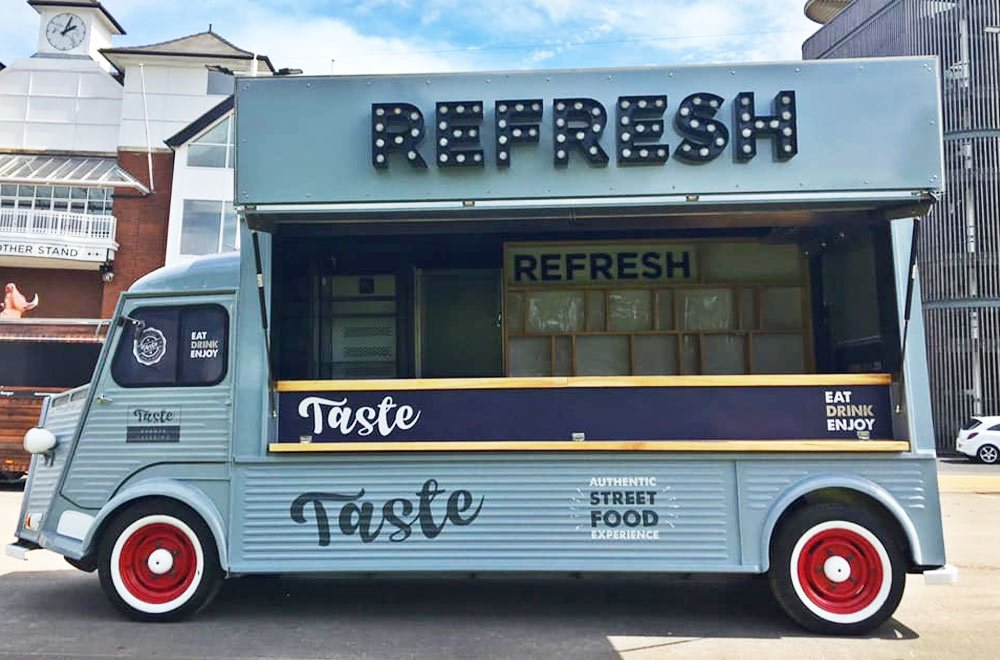 Refresh hy bar van conversion outside Aintree