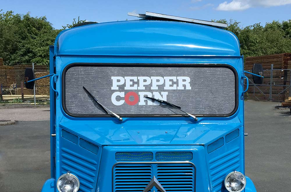 Classic HY van conversion for Peppercorn street catering truck