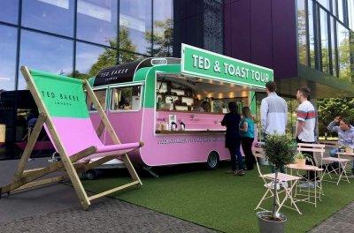 ted baker caravan conversion serving customers