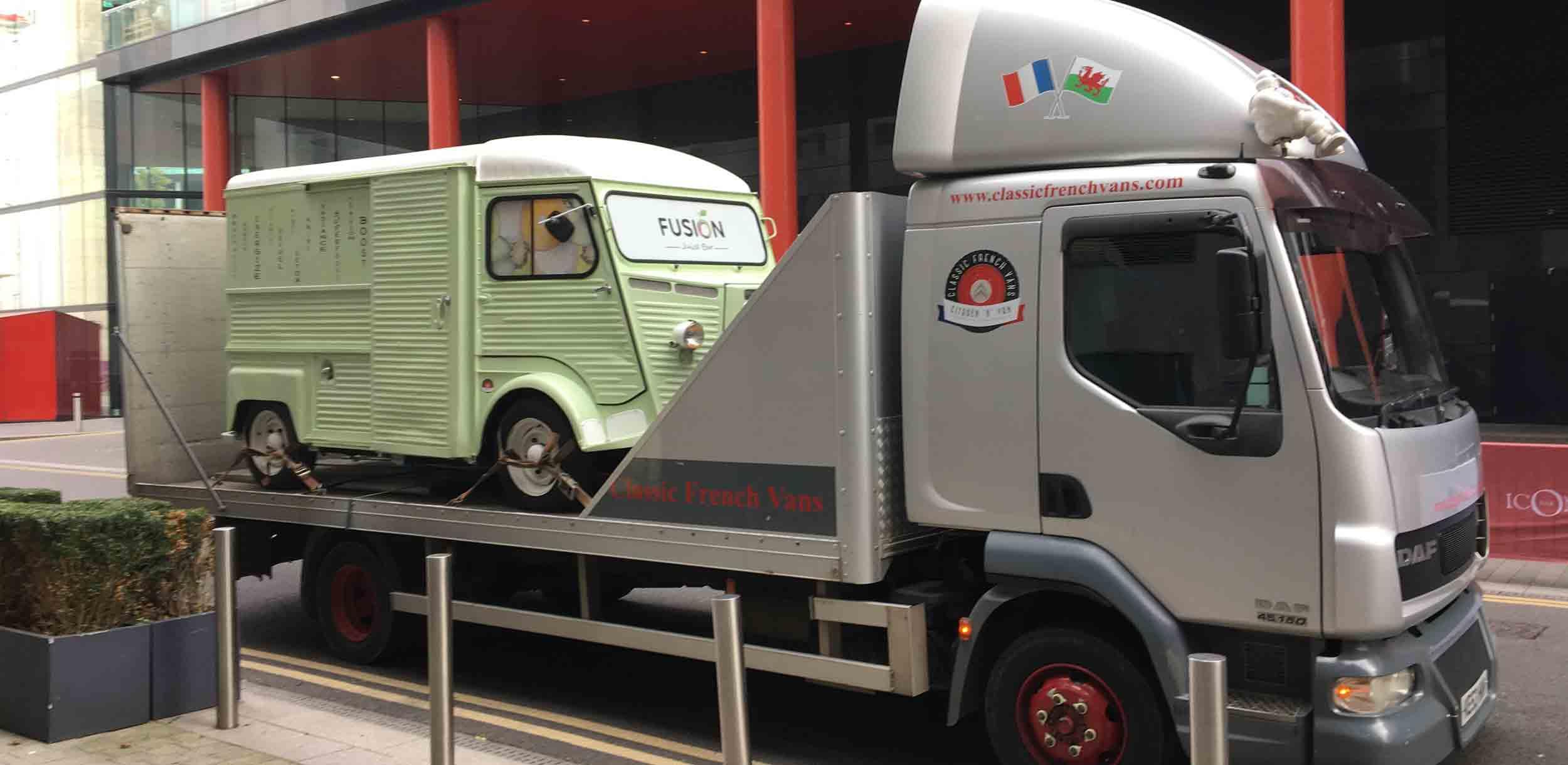 Promo Vehicle Transportation & Catering Truck Transportation